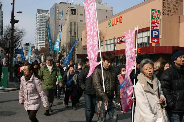 31_西梅田へパレード